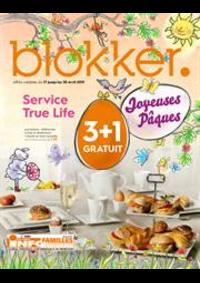 Prospectus BLOKKER Jodoigne : Blokker depliant avril