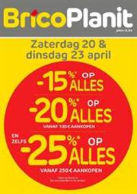 Prospectus Brico Plan-it Charleroi : Mega Promos