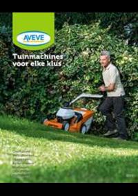 Prospectus AVEVE Plus NAMUR : Tuinmachines