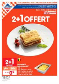 Prospectus Leader Price COUILLET : Catalogue Leader Price Belgique