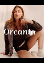 Prospectus Orcanta : Nouveautés Collection