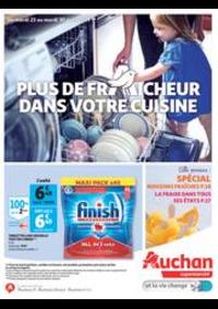 Prospectus Auchan Val d'Europe Marne-la-Vallée : Plus de fraicheur dans votre cuisine