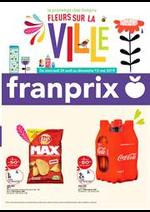 Prospectus Franprix : Fleurs Sur La Ville