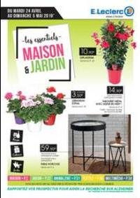 Prospectus E.Leclerc CONFLANS SAINTE HONORINE : Maison et jardin