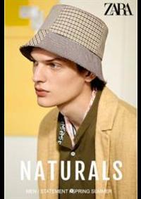 Prospectus ZARA PARIS 28-32 VICTOR HUGO : Naturals New Men