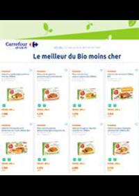 Prospectus Carrefour Drive PUISEUX PONTOISE : Le meilleur du Bio moins cher