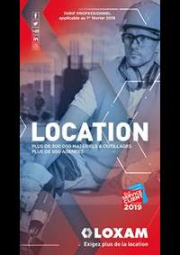 Prospectus Loxam MOLSHEIM : Location 2019
