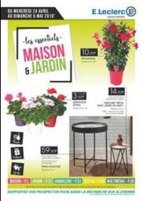 Prospectus E.Leclerc CLICHY SOUS BOIS : Maison et jardin