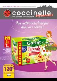 Prospectus Coccinelle Supermarché NOGENT SUR MARNE : Pour mettre de la fraîcheur dans mes entrées!