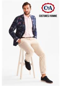 Prospectus C&A BOUGE : Costumes / Homme
