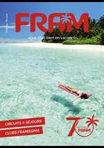 Prospectus FRAM : Catalogue Printemps-Été 2019