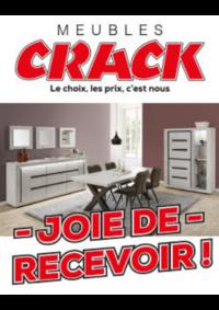 Prospectus Meubles Crack : Joie de recevoir !
