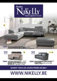 Prospectus Meubles Nikelly : Les offres de mai