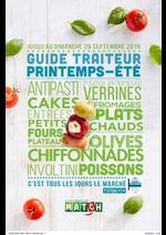 Promos et remises  : Guide traiteur printemps-été