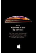 Prospectus Apple : iPhone Xs