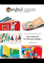 Prospectus Oxybul Eveil & jeux : Des talents à chaque page!