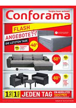 Prospectus Conforama : Flash Angebote!!! Die Letzten Tage