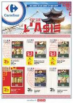 Prospectus Carrefour : Cap sur l'Asie
