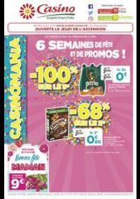 Prospectus Supermarchés Casino PARIS 77 Rue de Flandre : 6 semaines de fête et de promos !