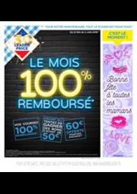 Prospectus Leader Price La Courneuve : Le mois 100% remboursé