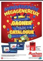 Prospectus Auchan : Anniversaire Mégagénéreux