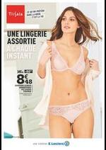 Prospectus E.Leclerc : Une lingerie assortie à chaque instant