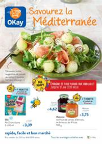 Prospectus OKay Supermarchés ETTERBEEK : Savouir Depliant