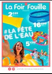 Prospectus La Foir'Fouille Herblay : La fête de l'eau