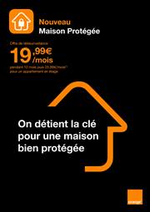 Prospectus Orange : Maison protegee
