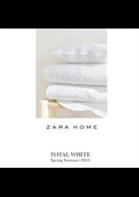 Prospectus ZARA HOME LEVALLOIS-PERRET : Total white SS19