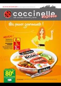 Prospectus Coccinelle Express ECOUEN : Ma pause gourmande!