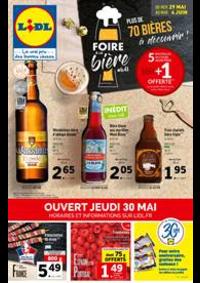 Prospectus Lidl MASSY ZAC du Moulin - Avenue du Bel Air : Foire à la Bière
