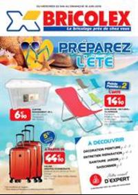 Prospectus Bricolex PARIS 14 : Préparez L'été