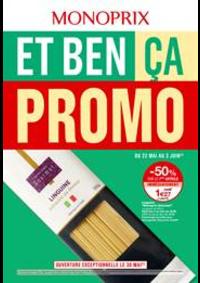Prospectus Monoprix EVIAN : Et ben ça Promo