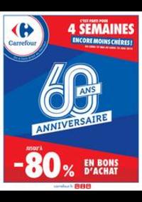 Promos et remises Carrefour GENNEVILLIERS : L'Anniversaire Carrefour !