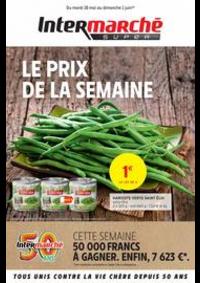 Prospectus Intermarché Super Bondy : LE PRIX DE LA SEMAINE
