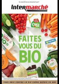 Prospectus Intermarché Super Vaux le Penil : Faites vous du Bio