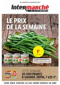 Prospectus Intermarché Super Yerres : LE PRIX DE LA SEMAINE