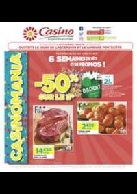 Prospectus Supermarchés Casino ASNIERES ZAC du métro - Ilot F : 6 semaines de fête et de promos !