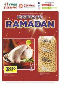Prospectus Supermarchés Casino PARIS 16 Rue des Belles Feuilles : Saveurs du Ramadan