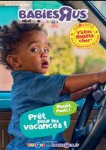 Prospectus Babies R Us : Prêt pour les vacances!