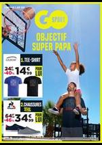 Prospectus Go Sport : Objectif Super Papa
