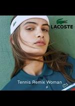 Prospectus Lacoste : Tennis Remix Woman