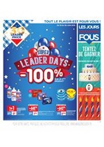 Bons Plans  : Super Leader Days