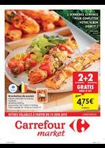 Prospectus Carrefour Market : Les promos du frais : offres valables à partir du 19 juin