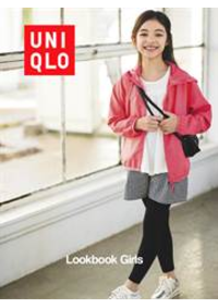 Prospectus Uniqlo So Ouest : Lookbook Girls