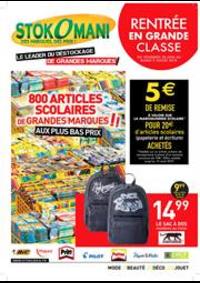 Prospectus Stokomani Lagny-sur-Marne : Rentrée en grande classe