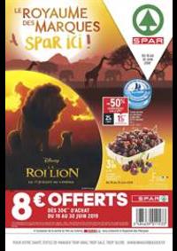 Prospectus Spar PARIS 18 : Le Royaume des marques Spar ici!