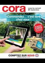 Prospectus Cora : Commandez... c'est livré chez vous!