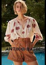 Prospectus Antik Batik : Tendances Femme